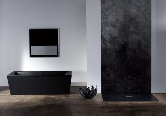 kaldewei: farbige badewannen sorgen für sinnlichen look im bad, Hause ideen