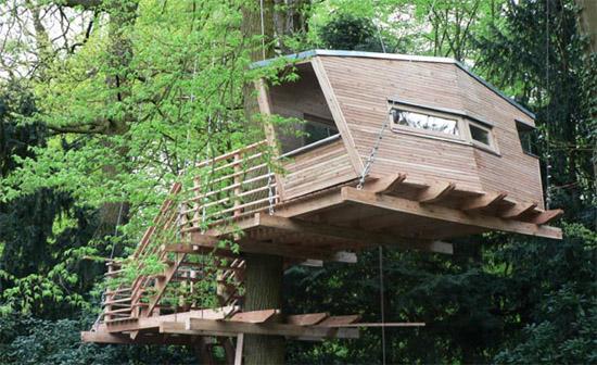 Baumhaus Hannover in luftiger höhe dai verband deutscher architekten und