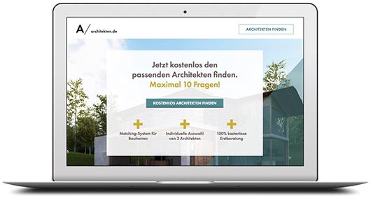 architekten.de Newsletter Anzeige
